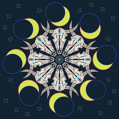 Digital Art - Eclipse 2 by Ronda Broatch
