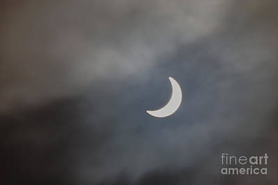 Photograph - Eclipse 2015 - 2 by Jeremy Hayden