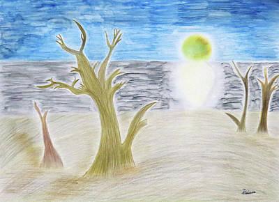 Eclipse..  Original by Adina Art