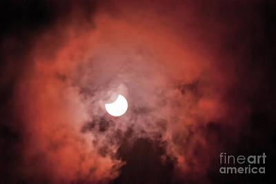 Photograph - Eclipse August 2017 by Scott Hervieux