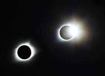 Photograph - Totality Awesome by Christopher McKenzie