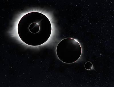 Photograph - Eclipse Echo by Art Cole