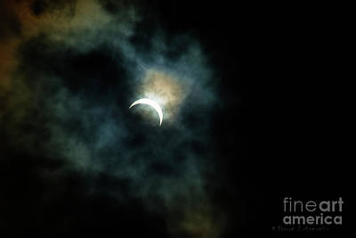 Photograph - Eclipse No 3 by David Arment