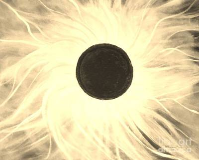 Painting - Eclipse Of The Sun 2017 by Anne Buffington