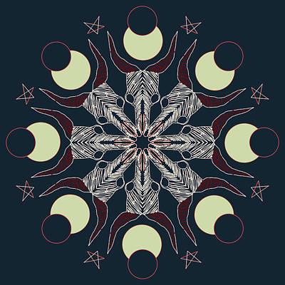 Digital Art - Eclipse by Ronda Broatch