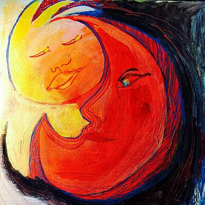Painting - Eclipse by Rosalinde Reece