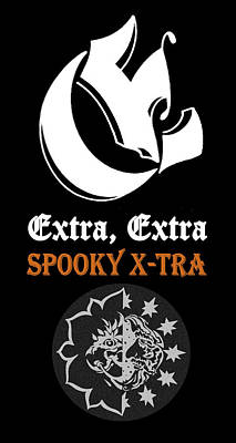 Digital Art - Eclipse Spooky Xtra by Dawn Sperry