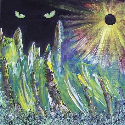 Eclipse Art Print by Tony Rodriguez
