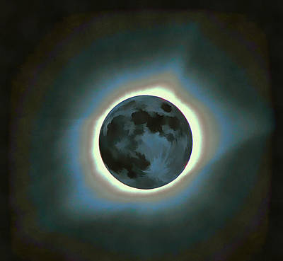 Solar Eclipse Mixed Media - Eclipse Totality by Dan Sproul