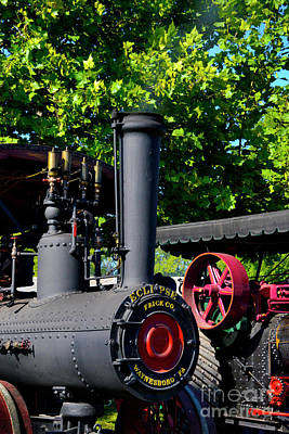 Steam Tractor Photograph - Eclipse Tractor - Front by Paul W Faust - Impressions of Light