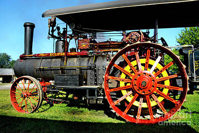 Photograph - Eclipse Tractor by Paul W Faust - Impressions of Light