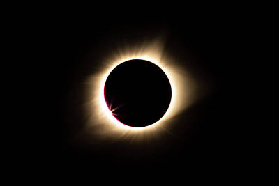Photograph - Eclipse by Wesley Aston