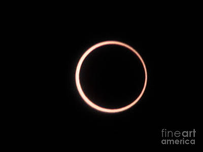 Photograph - Eclipse2 2012 by Serena Ballard