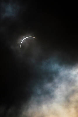 Photograph - Eclipsed Crescent Iv by Ryan Heffron