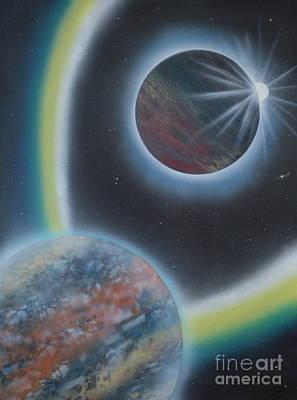 Eclipsing Art Print