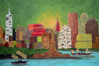 Eco Manhattan Original by Ken Figurski