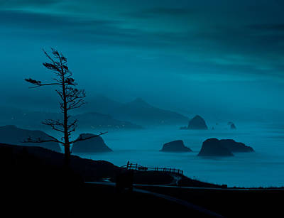 Photograph - Ecola At Night by Robert Potts