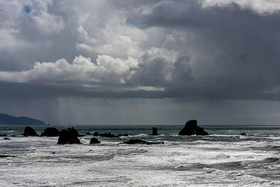 Photograph - Ecola Rain by Robert Potts