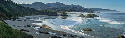 Photograph - Ecola Seascape by Don Schwartz