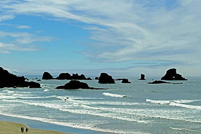 Photograph - Ecola State Park 18 by Jeff Brunton