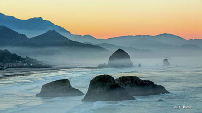 Photograph - Ecola State Park  by Walt Baker