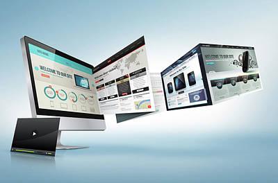 Development Mixed Media - Ecommerce Web Design And Development by CBS Park