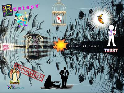 Digital Art - Ecstasy by Steven Brier