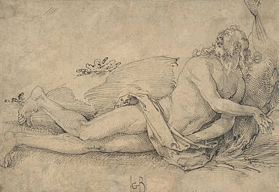Drawing - Ecstatic Christ by Hans Baldung Grien
