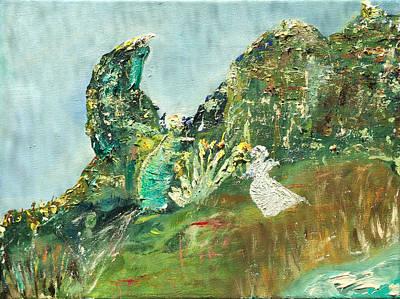 Painting - Ecstatic / Eagle's Rock / Leitrim Landscapes by Dawn Richerson