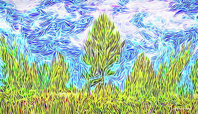 Digital Art - Ecstatic Skies by Joel Bruce Wallach