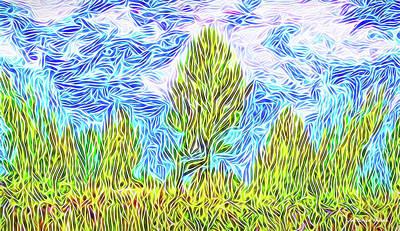 Digital Art - Ecstatic Skies by Joel Bruce Wallach