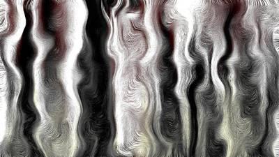Ectoplasm Digital Art - Ectoplasm 1 by Peterson Dessalines