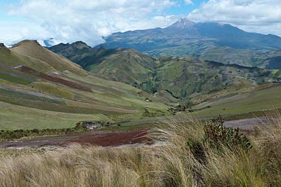 Photograph - Ecuador Highlands Agriculture by Cascade Colors