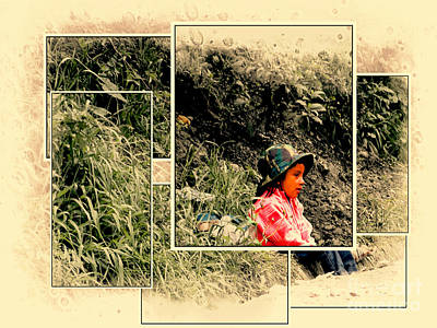 Photograph - Ecuador Kids 978 by Al Bourassa