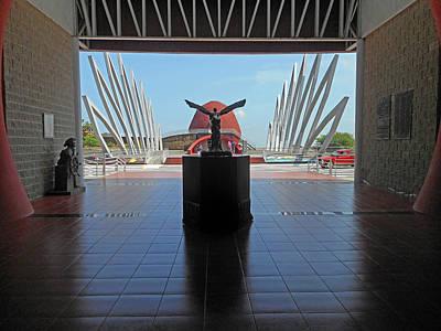 Photograph - Ecuadorian Museum 4 by Ron Kandt