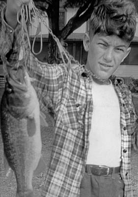 Photograph - Ed Cooper. World Class Fisherman At 13 by Ed Cooper Photography