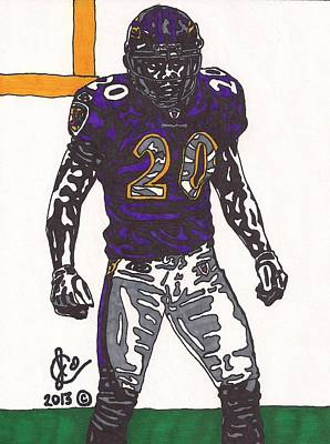 Ed Reed 1 Original by Jeremiah Colley