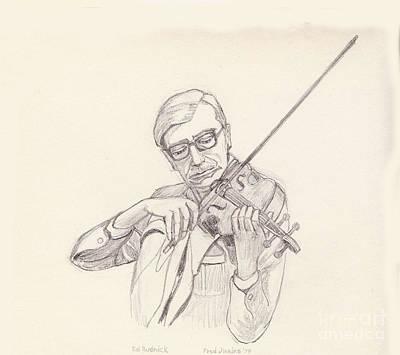 Ed Rudnick - Violin Art Print