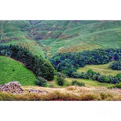 Photograph - #edale #peakdistrict #england #peaks by Isabella F Abbie Shores