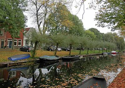 Photograph - Edam Canal Scene by Pema Hou