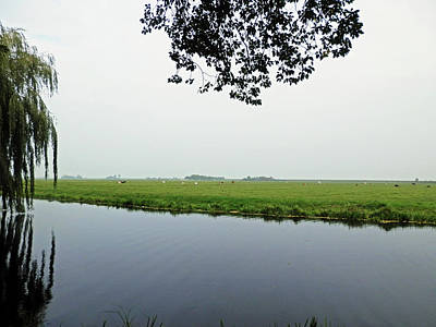 Photograph - Edam Countryside by Pema Hou