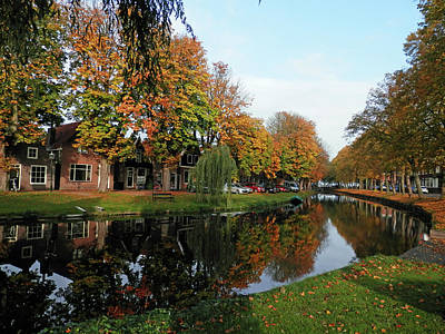 Photograph - Edam In The Fall by Pema Hou