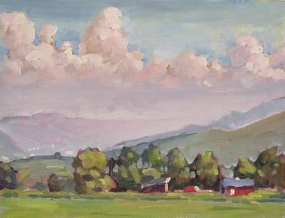 Painting - Eddie Alibozek's Place by Len Stomski