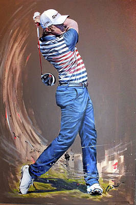 Painting - Eddie Pepperell by Mark Robinson