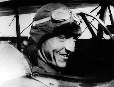 Rickenbacker Photograph - Eddie Rickenbacker, World War I Flying by Everett