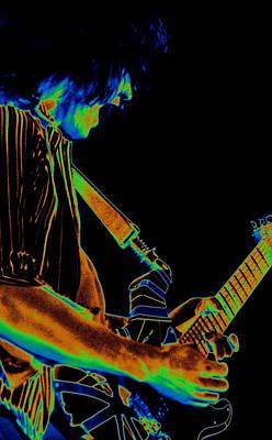 Edward Van Halen Photograph - Rockin Cosmic Spokane by Ben Upham