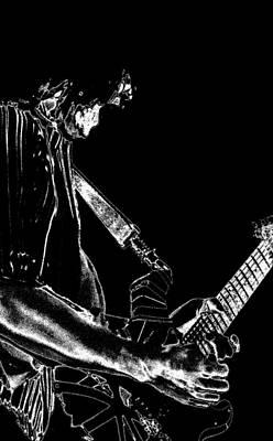 Edward Van Halen Photograph - Rockin Spokane 2 by Ben Upham
