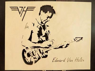 Eddie Van Halen Original by Kris Martinson