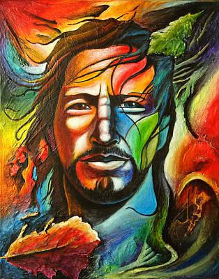 Eddie Vedder Painting - Eddie Vedder by Robert Stokley