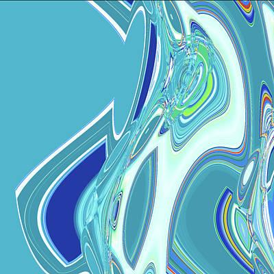 Digital Art - Eddies by Gina Harrison